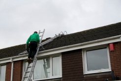 fitting the flue